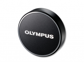 LC-48B Metal Lens Cap Black
